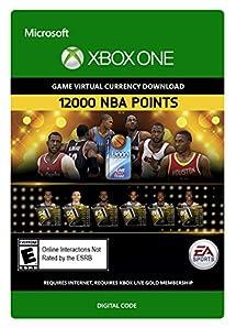 Amazon.com: NBA Live 15: 12,000 NBA Points - Xbox One