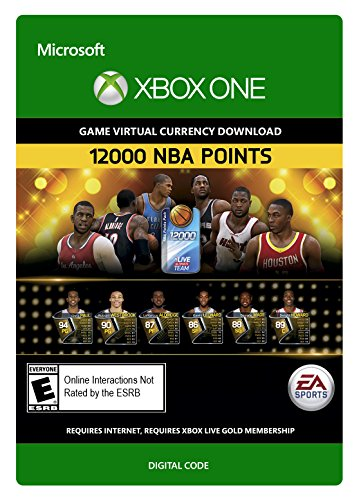 NBA Live 15: 12,000 NBA Points - Xbox One Digital Code by 2K Games