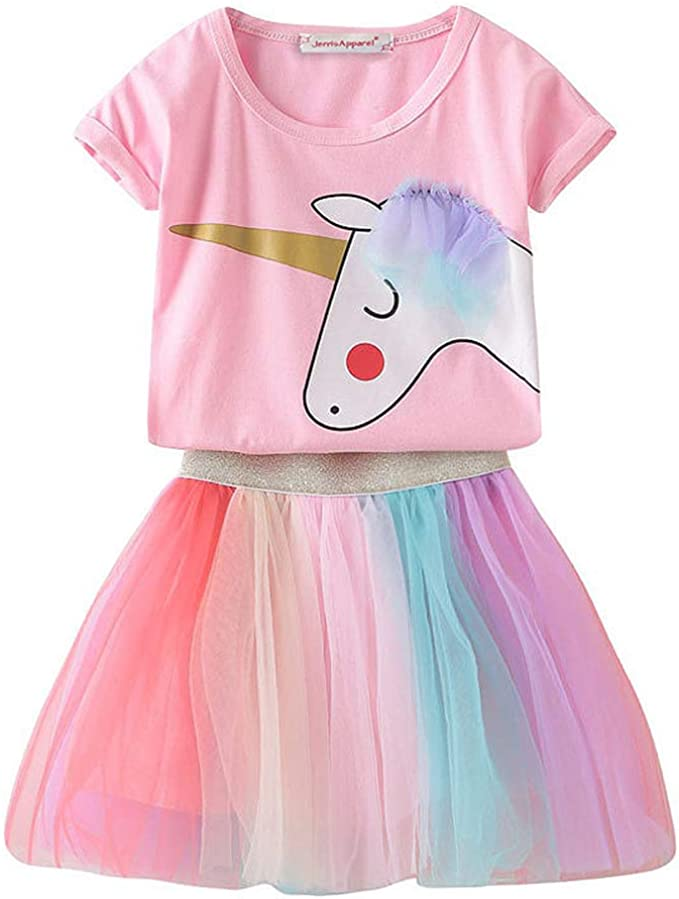 Amazon.com: JerrisApparel - Disfraz de unicornio para niña ...