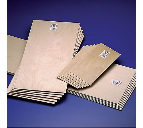 Midwest Thin Birch Plywood 3/16 in. x 6 in. x 12 in. general craft/modeling by Midwest Products Co.