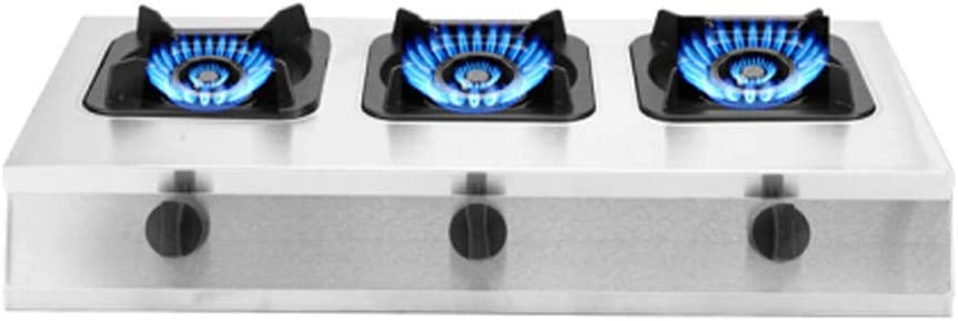 Placa De Gas Comercial Estufa 4 Quemadores LPG/NG Doble ...
