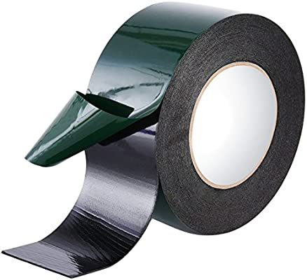 Double Sided Foam Tape Sizes Number Plates Car 25mm x 10M Adhesive Sticky Strong