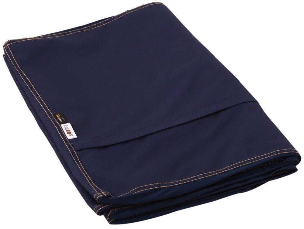 エムール マイクロビーズクッション キューブ XLサイズ 専用カバー コーデュラ ネイビー 日本製 B077SQQWHM 55.専用カバーのみ(コーデュラネイビー) 55.専用カバーのみ(コーデュラネイビー)