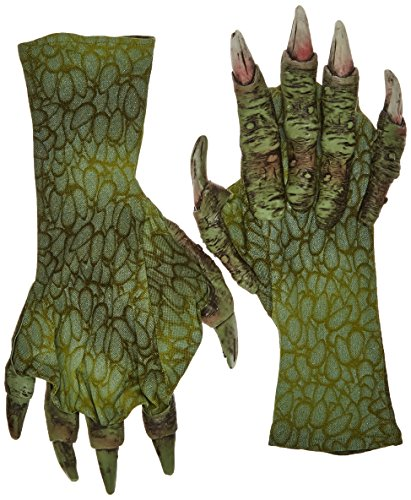 The Creature From The Black Lagoon Costumes - Zagone Sea Creature Gloves, Green Fingers