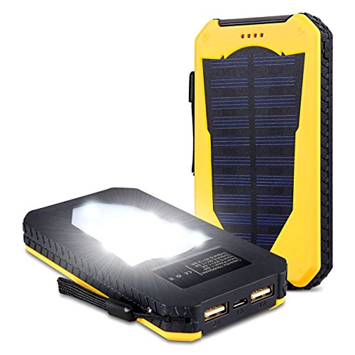 Led Flashlight Solar Lamp Battery Solar Energy Recharge Cell Phone