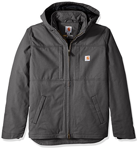 Carhartt Men's Big & Tall Full Swing Cryder Jacket, Shadow, X-Large/Tall