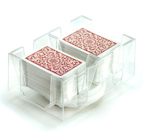 6 Deck Rotating-Revolving Card Tray by Brybelly