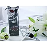 Hearts Entwined Double Heart Bottle Stopper in Designer Gift Box (Pack of 30)
