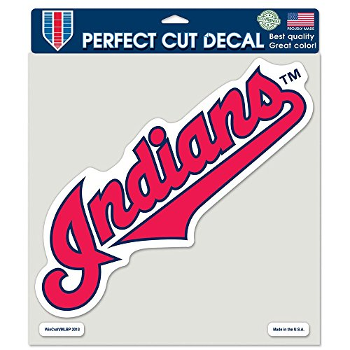 WinCraft MLB Cleveland Indians 16751013 Perfect Cut Color Decal, 8