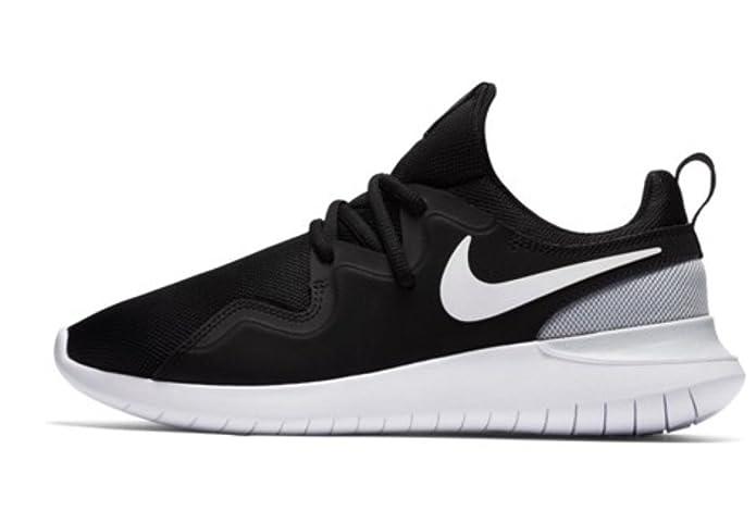 Nike Damen Sneaker Tessen, Sneakers Basses Femme, Gris (Pure Platinum/White-002), 40 EU