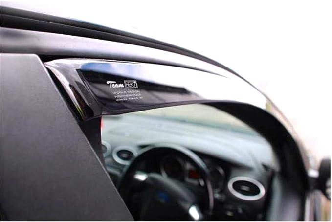 4pcs EdgeVisors Wind Deflectors For Audi A1 5 Door Hatchback 2011-onwards
