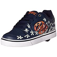 Heelys Motion Plus - Navy/Grey/Orange - Ships from Canada