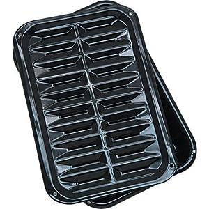 "Range Kleen Broil N' Bake with Stick Free Coating Broiler Pan (8.5x13"" Set of 2)"