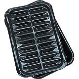 "Range Kleen Broil N' Bake with Stick Free Coating Broiler Pan (8.5x13"")"