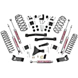 Rough Country - 698.20 - 4-inch Suspension Lift System w/ Performance 2.2 Shocks