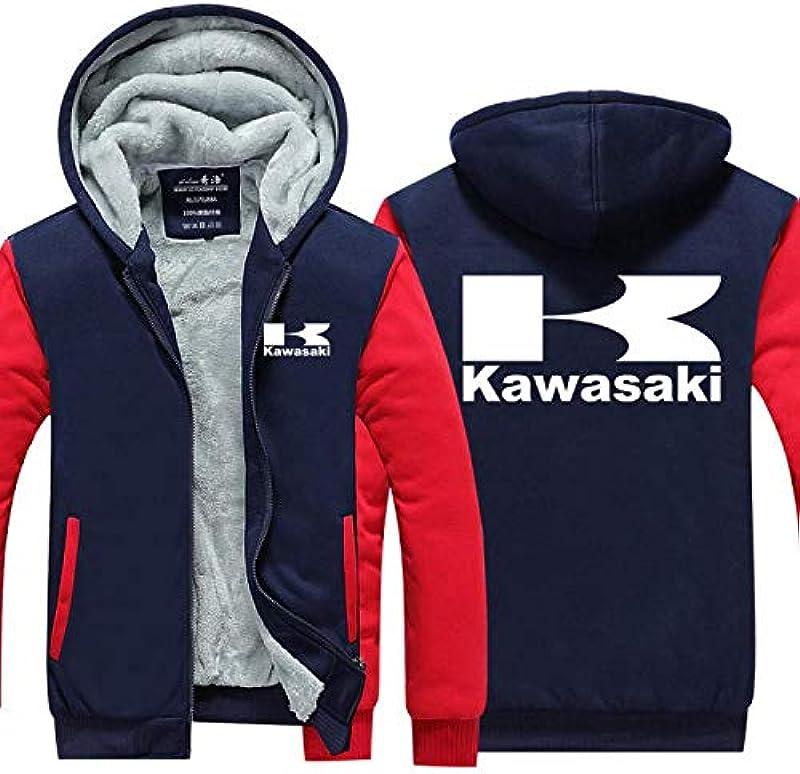 AEH męska bluza z kapturem, zapinana na zamek błyskawiczny, kardigan, kurtka baseballowa, z kapturem, z dzianiny, z zamkiem błyskawicznym, E-M: Küche & Haushalt