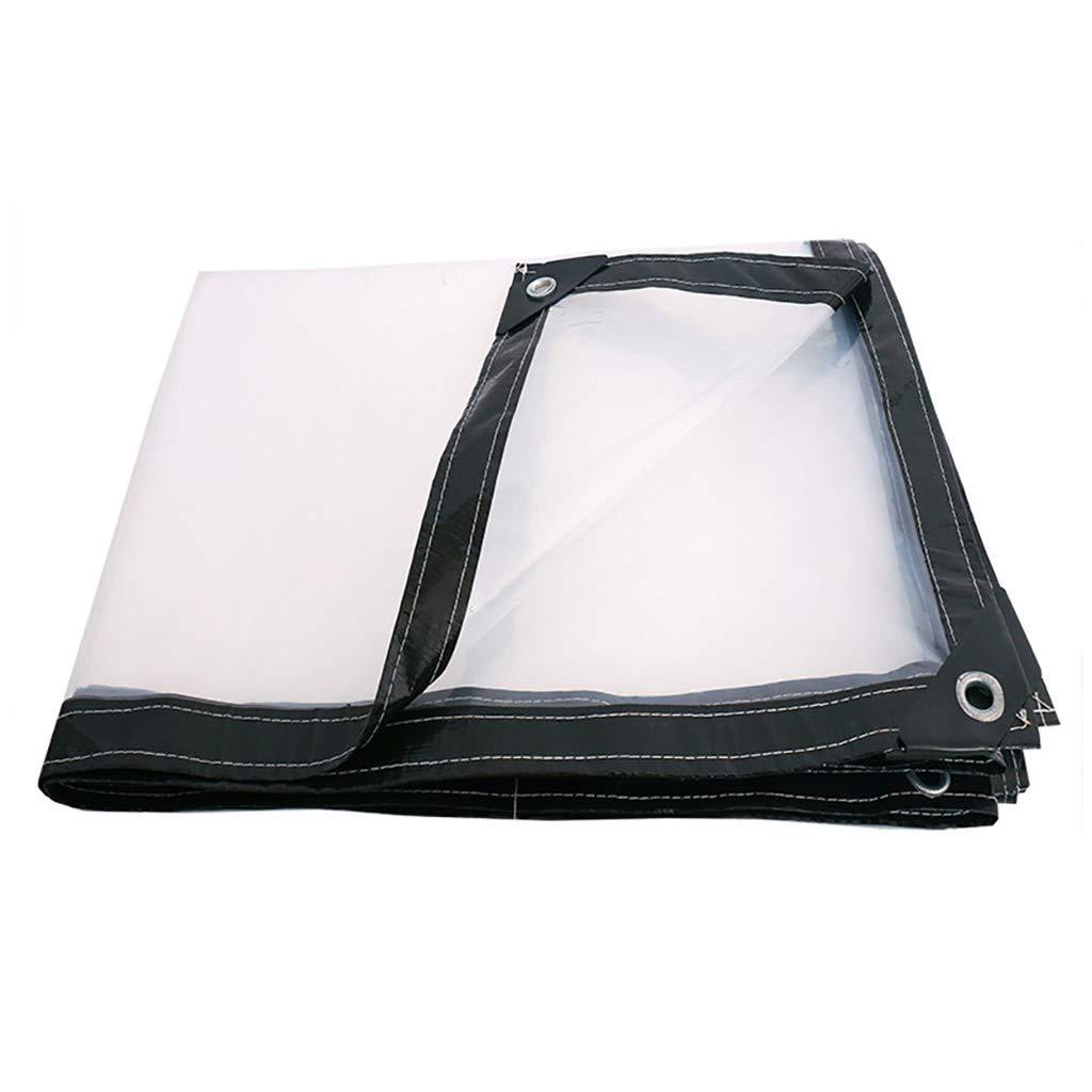 4×5M BÂche de Prougeection Transparent Tissu Imperméable Tissu Imperméable épaissir Toile Plastique Imperméable 2 × 3M (Taille   3×3M)