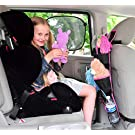 Backseat Car Organizer  Best Baby Travel Accessories for Kids Toy Storage Ideas FREE Travel Gifts Available in Blue and Pink  100% Moneyback Satisfaction Guaranteed