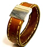 Christian Berkey Handmade Men's Bracelet - Limited Edition Leather Bracelet
