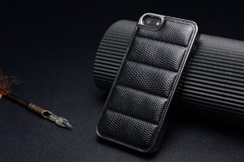 premium selection 020a1 bd7b9 Luxury Quality Leather Back Cover Case For Apple iPhone 5 5s - Black ...