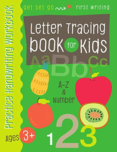 Letter Tracing book for Kids: A-Z Capital , Small Letter and 1-10 Number for Preschoolers Kindergarten and Kids Ages 3-5 ()