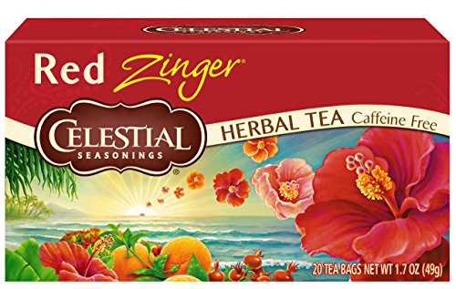 - Celestial Seasonings Herbal Tea, Red Zinger, 20 Count