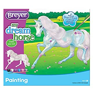 Breyer Classics Unicorn Paint Craft Kit (1:12 Scale), Multicolor