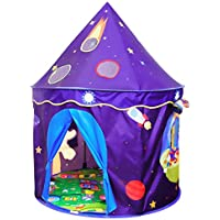 ALPIKA Kids-Tent Toy Castle Playhouse with Mat