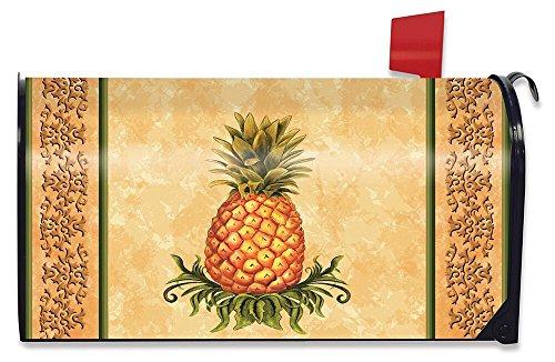 Holiday Williamsburg Fruit - Briarwood Lane Pineapple Fruit Everday Large Magnetic Mailbox Cover Oversized