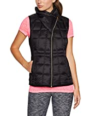 Calvin Klein Women's Down Filled Vest with Quilted Seams