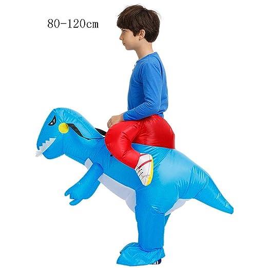 SUN HUIJIE Disfraces de Halloween del Traje de Dinosaurio Inflable ...