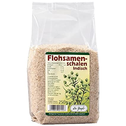 Cáscaras de semillas de psyllium (250 g)