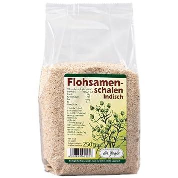 Cáscaras de semillas de psyllium (250 g): Amazon.es: Salud y ...