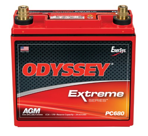Seal Red 1963 Note Series - Odyssey PC680MJT Automotive and LTV Battery
