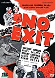 No Exit [UK Region 2 Format DVD] [2016]