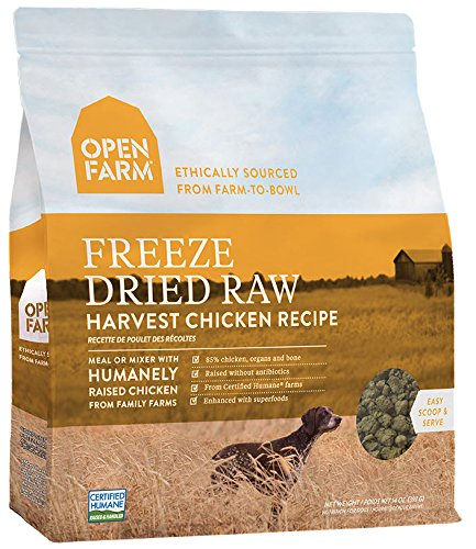 Picture of Open Farm Freeze Dried Raw Dog Food 13.5 oz (Chicken)