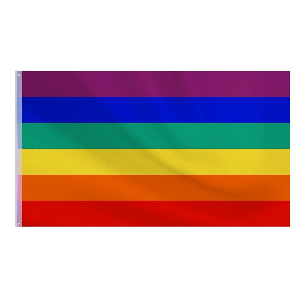 Namgiy arcobaleno orgoglio bandiera bandiere, striscioni bandierine banner Pennant bandiera bandierine per eventi sportivi National vacanze ricorrenze Decor Small