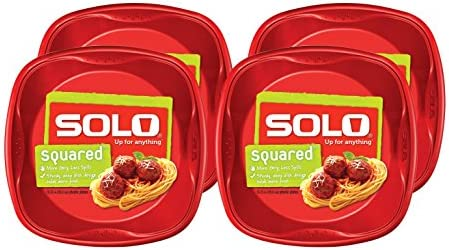 Solo Plastic Party Plates Count