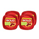 : Solo Plastic Party Plates, Red, 10 Inch, 120 Count,