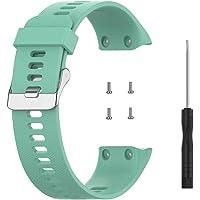 QoFina Siliconen horlogeband, armband voor Garmin ForeAthlete 35J, Forerunner35J, Forerunner 35, Forerunner 30, zachte…