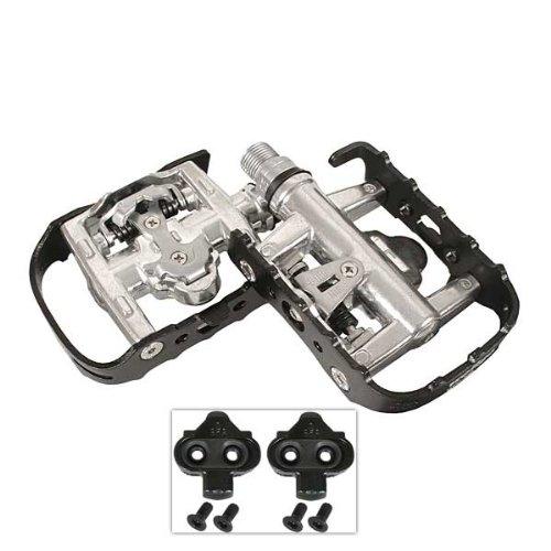 Pro Platform Pedals - Wellgo WPD-95B Reversible Sealed Platform Clipless Pedal, Black