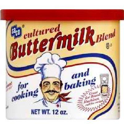 Saco Foods BG17814 Saco Foods Buttermilk Powder - 12x12OZ by  (Image #1)