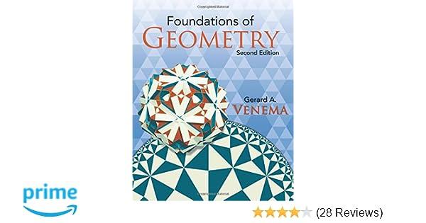 amazon com venema foundations of geometry p2 2nd edition rh amazon com Geometry Tools Prentice Hall Foundations Geometry