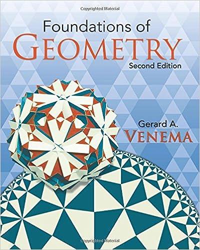venema foundations geometry solutions manual