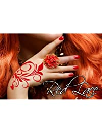 Women's Red Lace Hand Red One Size Fits Most