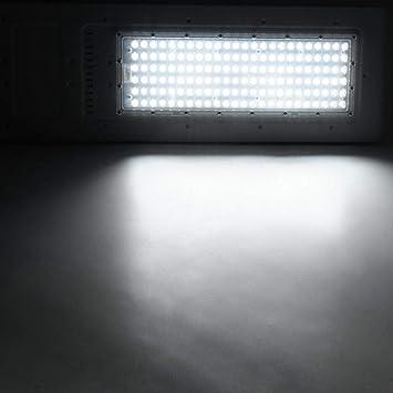 Luces Solares Al Aire Libre Focos Aplique de Pared Solar Luces de Jardín 144 Led 150W