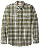 Amazon Brand – Goodthreads Men's Standard-Fit Long-Sleeve Plaid Herringbone Shirt