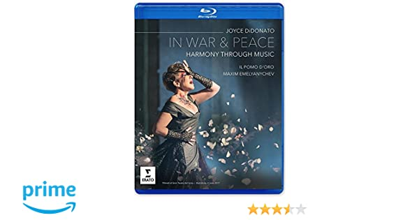 42254a3e88c Amazon.com  In War and Peace - Harmony Through Music (Blu-ray)  Joyce  DiDonato  Movies   TV