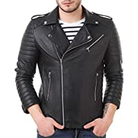 Leather Retail Faux Leather Biker Jacket for Roadies