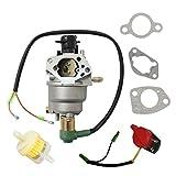 For Champion Power Equipment CPE 41115 5000 6000 Watt Gas Generator Carburetor Auto & stop switch